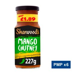 Sharwood's Green Label Mango Chutney 227g