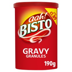 Bisto Gravy Granules PMP 189 190g