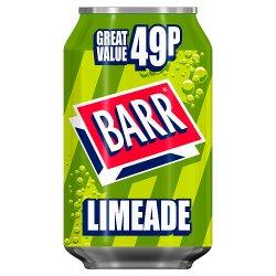 Barr Limeade 330ml Can, PMP 49p