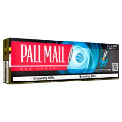 Pall Mall Red Capsule Kingsize 10 x 20 Cigarettes