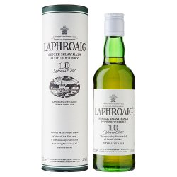 Laphroaig Islay Single Malt Scotch Whisky 10 Years Old 35cl
