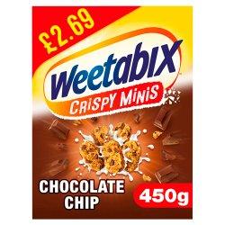 Weetabix Crispy Minis Chocolate Cereal 5 x 450g PMP £2.69