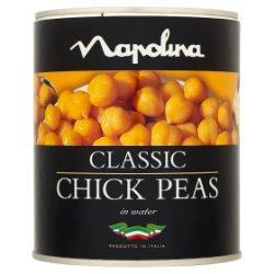 Napolina Chickpeas in Water 800g