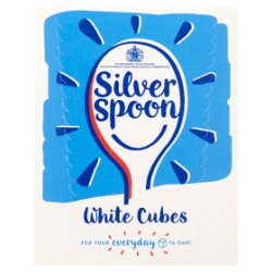 Silver Spoon Sugar White Cubes 500g