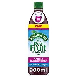 Robinsons Apple and Blackcurrant No Added Sugar Fruit Squash 900ml