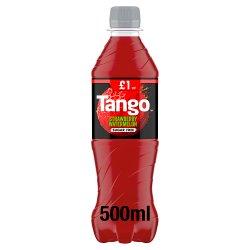 Tango Strawberry & Watermelon Sugar Free Bottle PMP 500ml
