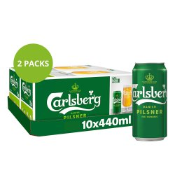 Carlsberg Lager Beer 10 x 440ml