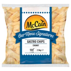 McCain Our Menu Signatures Gastro Chips Chunky 2.5kg