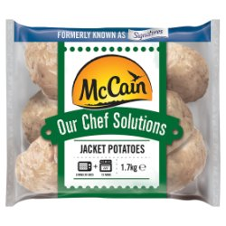 McCain Our Chef Solutions Jacket Potatoes 1.62kg