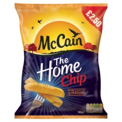 McCain The Home Chip Straight 900g