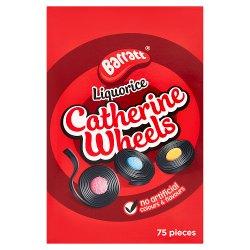 Barratt 75 Liquorice Catherine Wheels