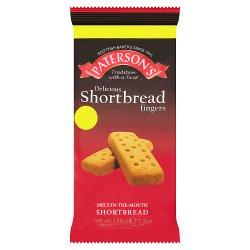 Paterson's Delicious Shortbread Fingers 150g