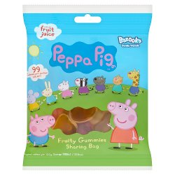 Peppa Pig Fruity Gummies Sharing Bag 120g