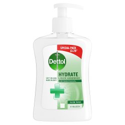Dettol Liquid Hand Wash Anti-Bacterial Soothe Aloe Vera and Vitamin E 250ml
