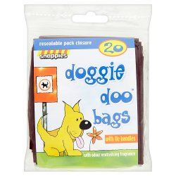 Snappies 20 Doggie Doo Bags