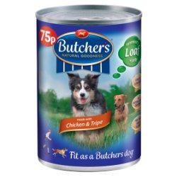 Butcher's Chicken & Tripe 75p 400g