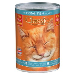 Classic Ocean Fish Single 400g