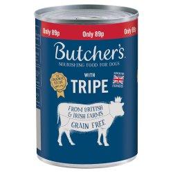 Butcher's Tripe Dog Food Tin 400g 89p