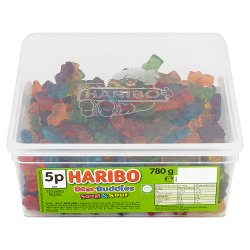 HARIBO Bear Buddies Sweet & Sour 120 Pieces 780g