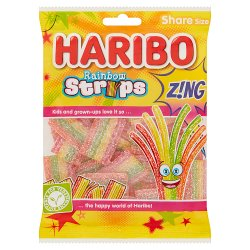 HARIBO Rainbow Strips Z!ng 130g