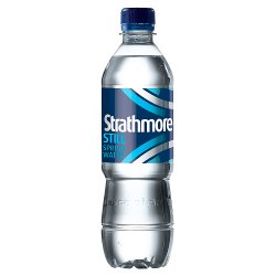 Strathmore Still Spring Water 500ml Bottle, PMP £3.49