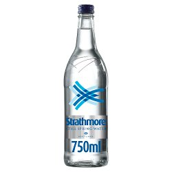 Strathmore Still Spring Water 750ml Glass Bottle