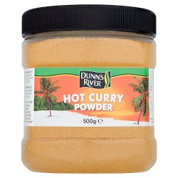 Dunn's River Caribbean Hot Curry Powder 500g