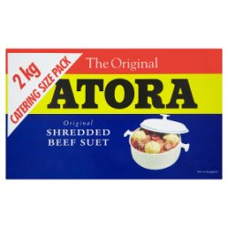 Atora Original Beef Shredded Suet 2kg