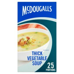 McDougalls Thick Vegetable Soup 25 Portions 276g