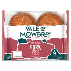 Vale of Mowbray 4 Pork Pies