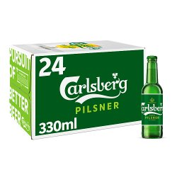 Carlsberg Lager Beer 24 x 330ml