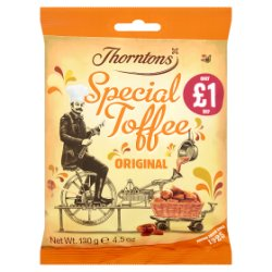 Thorntons Original Special Toffee Bag £1 PMP 130g