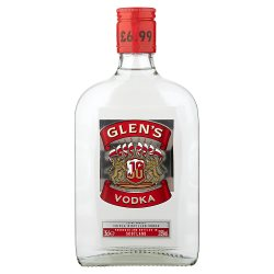 Glens Vodka GBP6.99