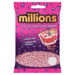 Millions Vimto The Tiny Tasty Chewy Sweets 85g
