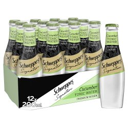 Schweppes 1783 Cucumber Tonic Water 12 x 200ml