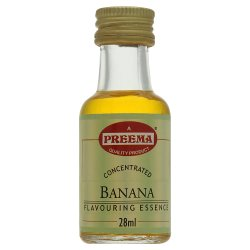 Preema Concentrated Banana Flavouring Essence 28ml