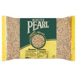 White Pearl Green Lentils 500g