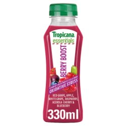 Tropicana Essentials Berry Boost Juice 330ml