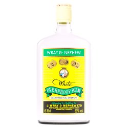 Wray & Nephew White Overproof Rum 35cl