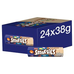 Nestlé® Smarties® Milk Chocolate Sweets 38g Hexatube