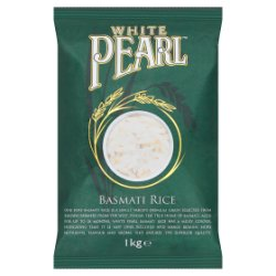 White Pearl Basmati Rice 1kg