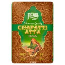 White Pearl Premium Quality Chapatti Atta Brown 25kg