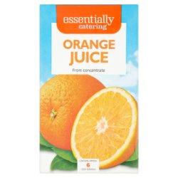 Essentially Catering Orange Juice