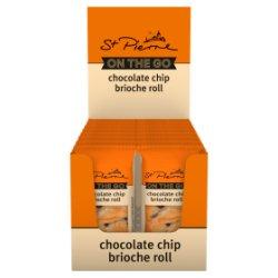 St Pierre On the Go Chocolate Chip Brioche Roll