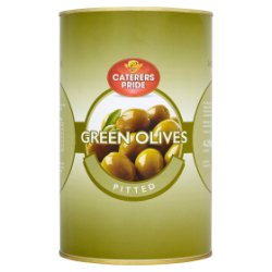 Caterers Pride Green Olives Pitted 4.25kg
