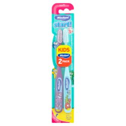 Wisdom Start! Soft Toothbrush from Age 3+ 2 Pack