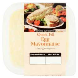Quick Fill Versatile Deli Fillers Egg Mayonnaise 230g