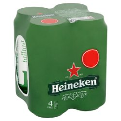 Heineken 4 Pack PM £5.00