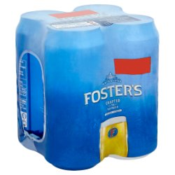 Foster's Beer 4 x 440ml