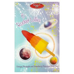 Franco's Ices Rocket Lollies 6 x 60ml (360ml)